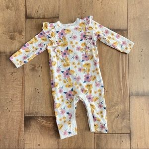 Chick Pea Baby Girl Jumpsuit Romper Floral Outfit